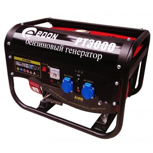 Бензиновый генератор Edon PT-3000