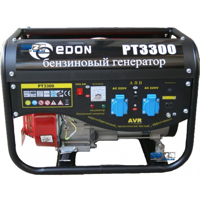 Бензиновый генератор Edon PT-3300