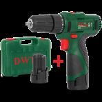 Шуруповерт аккумуляторный DWT ABS-10,8 Li-2 BMC