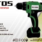 Шуруповерт аккумуляторный Eltos ДА-18 Li-Ion