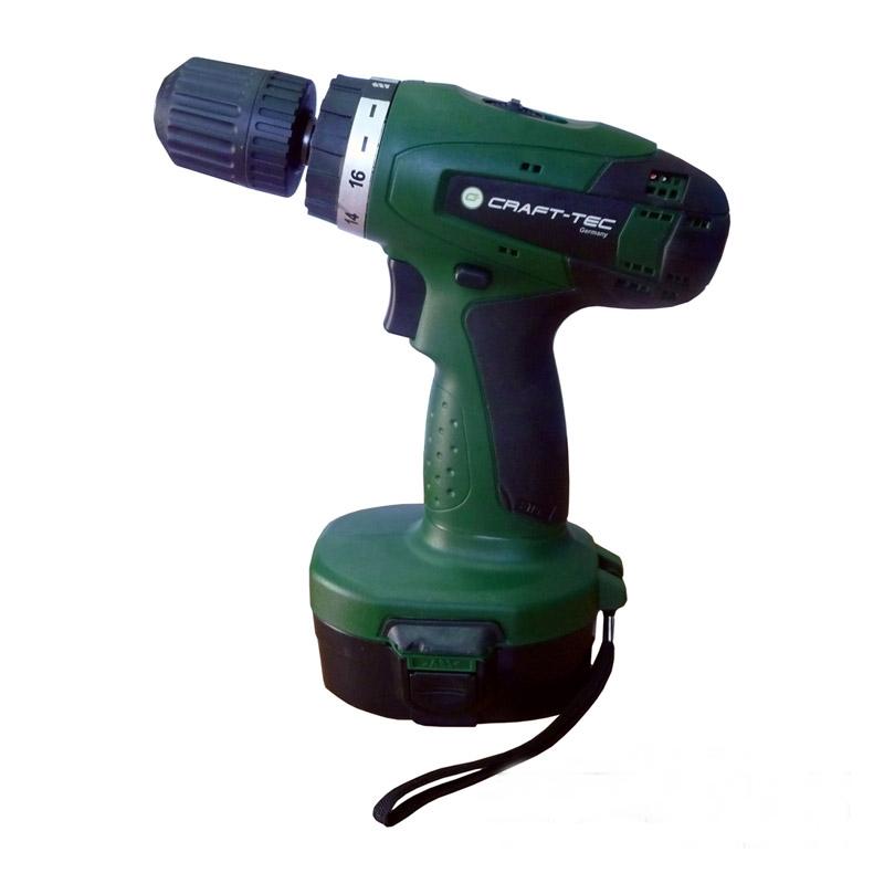 Шуруповерт аккумуляторный Craft-tec PXCD 216 18-2-1H