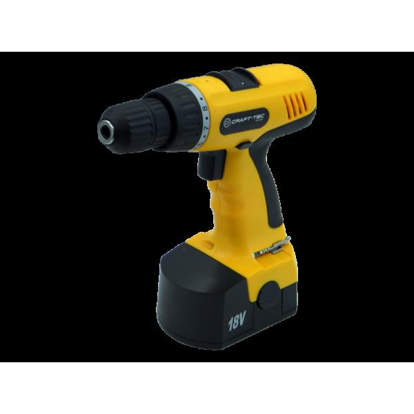 Шуруповерт аккумуляторный Craft-tec PXCD 215 18-2-1H Желтый