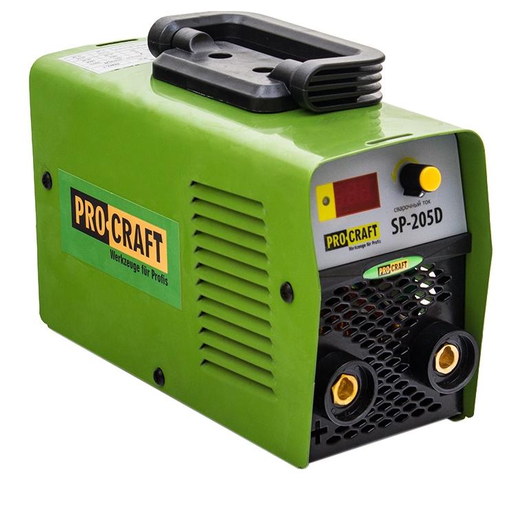 Инверторный сварочный аппарат ProCraft SP-205D