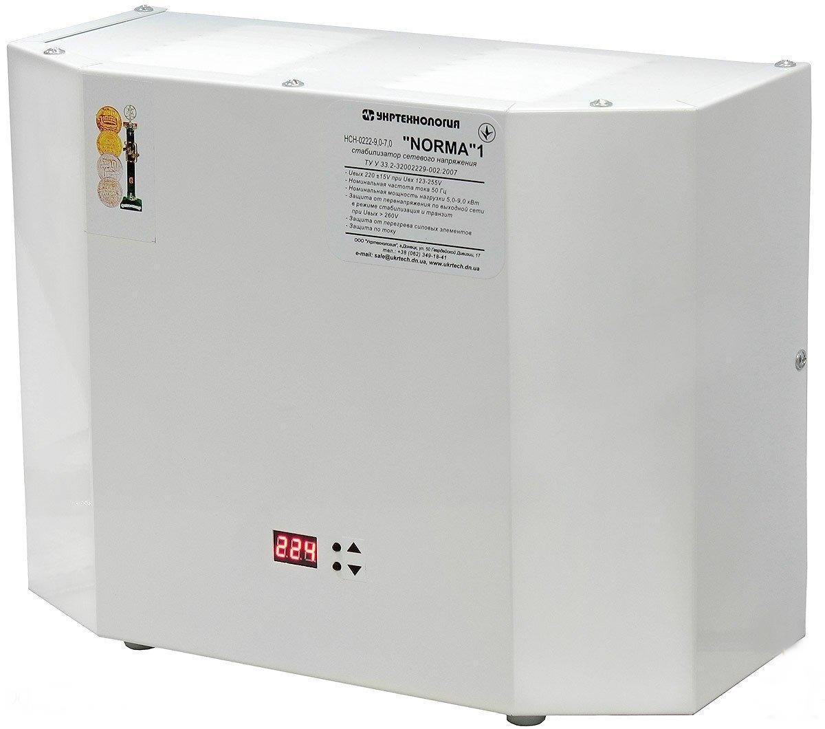 Стабилизатор напряжения Укртехнология Norma HCH-7500