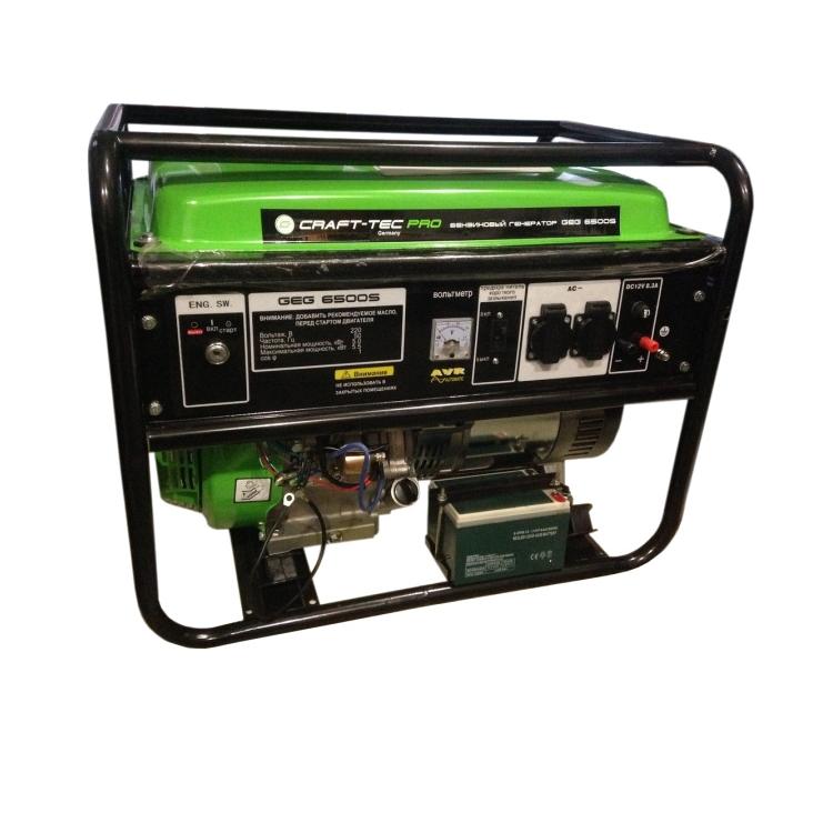 Генератор Craft-tec GEG 6500S