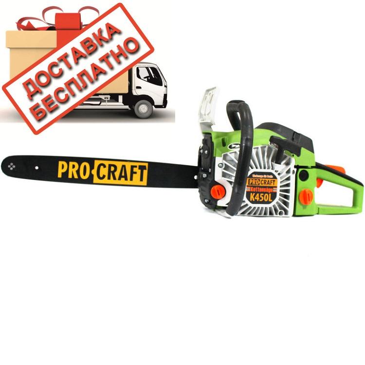 Бензопила ProCraft K450L (металл)