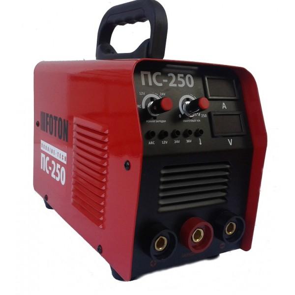 Инверторный сварочный аппарат Foton ПС-250 + Пуско-зарядное устройство