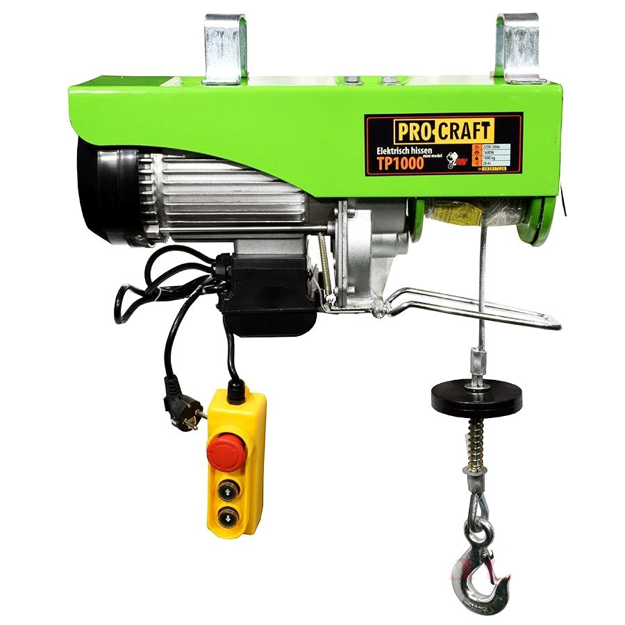 Тельфер электрический ProCraft ТР1000