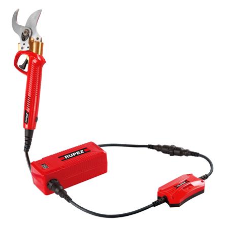 Ножницы садовые аккумуляторные RUPEZ ES-40 Li Профессиональные