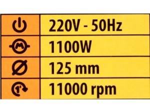Болгарка Procraft PW1100 (1)