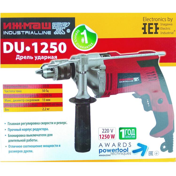 Дрель ударная Ижмаш Industrial Line DU-1250