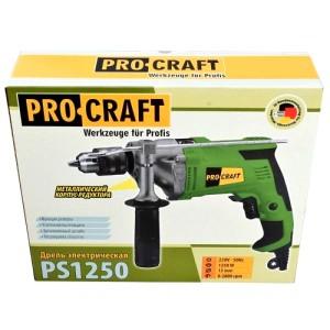 Дрель ударная Procraft PS-1250 (6)
