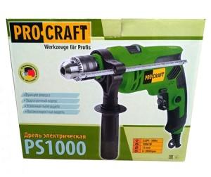 Дрель ударная Procraft PS1000 (1)