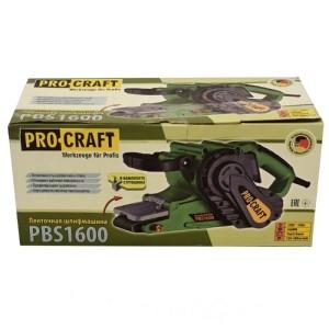 Ленточная шлифмашина ProCraft PBS-1600 (3)