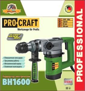 Перфоратор ProCraft BH-1600 (2)