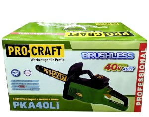 Аккумуляторная цепная пила Procraft PKA40Li (4)