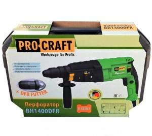 Перфоратор ProCraft BH-1400 ДФР (3)