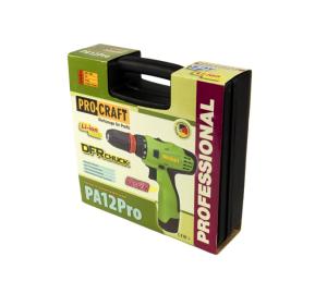 Шуруповёрт Procraft PA12Pro с DFR патроном (1)