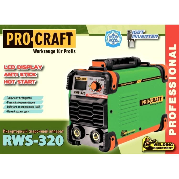 Сварочный инвертор ProCraft RWS-320