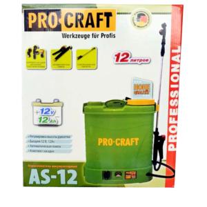 Аккумуляторный опрыскиватель ProСraft AS-12 (2)