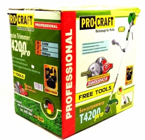 Бензокоса ProCraft T-4200 Pro Free Tools (1)