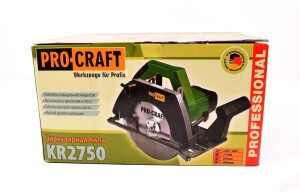 Циркулярная пила ProCraft KR-2750 (1)