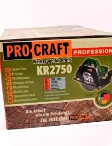 Циркулярная пила ProCraft KR-2750 (2)
